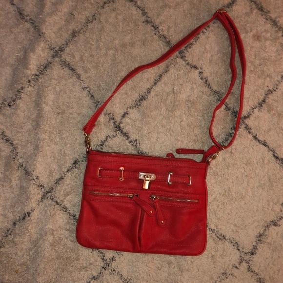 Street Level Handbags - Street level red purse